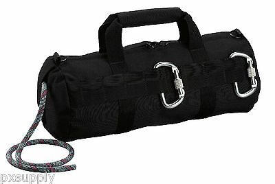rappelling bag climbing stealth black rothco 8170