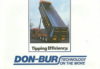 Don-Bur Tipping Trailers Brochure