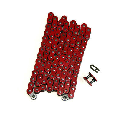Red 520x112 O-Ring Drive Chain ATV Motorcycle MX 520 Pitch 112 Links