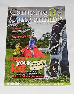 Camping & Caravanning Volume 107 No.8 August 2012 - Pack Your Kit