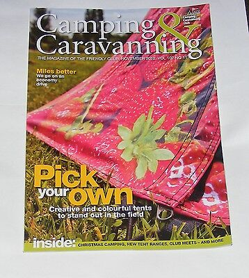 Camping & Caravanning Volume 107 No.11 November 2012 - Pick Your Own
