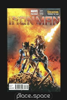 Iron Man # 11 - Cover B (1:20) Variant - Marvel Now