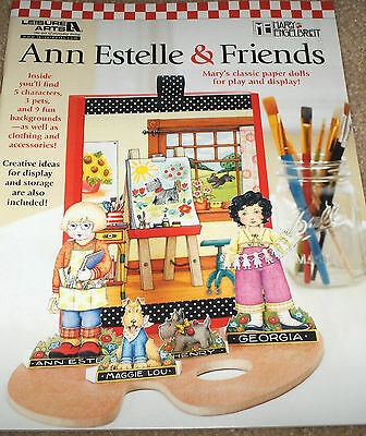 """Mary Engelbreit """"Ann Estelle & Friends"""" Classic Paper Dolls for Play & Display"""