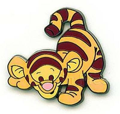 BABY TIGGER READY TO POUNCE Disney PIN CUTE Cutie POOH & Friends