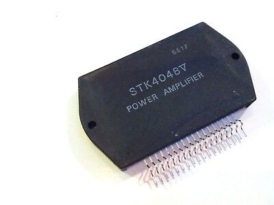STK4121II 2x15W 20V Power Amp 50kHz Heat Sink Compound BY SANYO