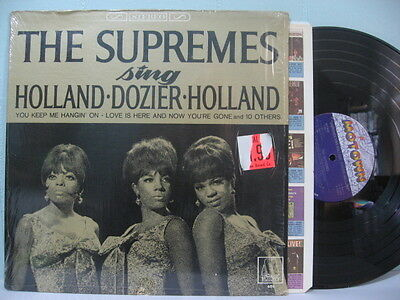 60s R&B  THE SUPREMES Sing Holland Dozier Holland  NM! MS-750  ORIG Shrink EB441