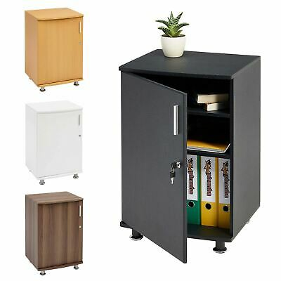 Home & Office Desktop Extension Storage Cabinet with Lock - Piranha Bowfin PC 4
