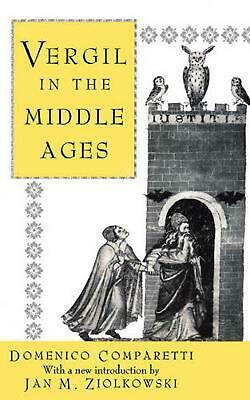 Vergil in the Middle Ages by Domenico Comparetti (English) Paperback Book Free S