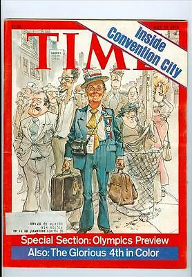 1976 Time Magazine: Inside Convention City/Olympics Preview