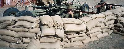 Sand Bags Hessian - One Hundred   Army  Flood/water Protection