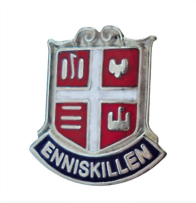 Lisburn Town Northern Ireland Crest Small Pin Badge