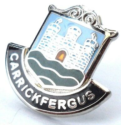 Lisnaskea Town Northern Ireland Crest Small Pin Badge