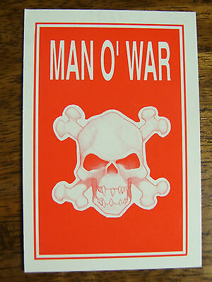 Man O War Crew Cards Variations Available (805)