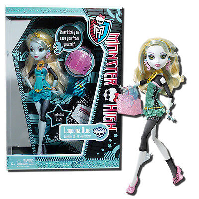Monster High Lagoona Blue 11-Inch Fashion Doll with Accessories & Diary - Mattel