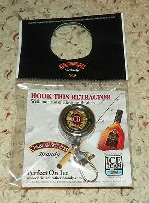 Christian Brothers Brandy / Cb Brandy - Retractable Key Chain / Key Ring