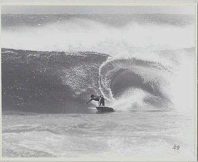 "Rare 1980 Velzyland Surfer Hand Printed B&w By Photographer On 8X10"" Mat"