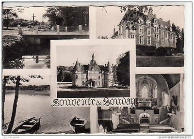 41 SOUDAY - carte souvenir multivues