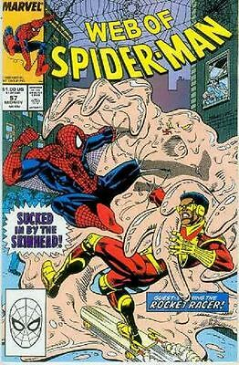 Web of Spiderman # 57 (USA, 1989)