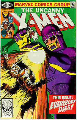 (Uncanny) X-Men # 142 (John Byrne, Days of Future Past part 2) (USA, 1981)