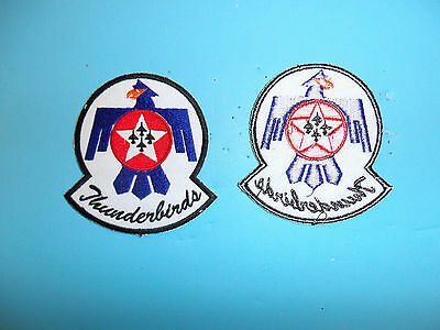 b2329 USAF Thunderbirds  Demonstration Team patch small