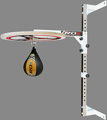RDX Adjustable Speed Ball Platform Stand Boxing Bag Set Swivel SpeedBall MMA SY
