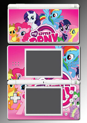 My Little Pony Friendship is Magic Cutie Mark Game Skin Cover Nintendo DS Lite