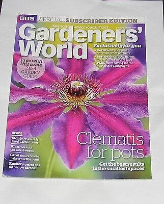 Gardeners' World May 2011 - Clematis For Pots/wildlife Ponds/hanging Baskets