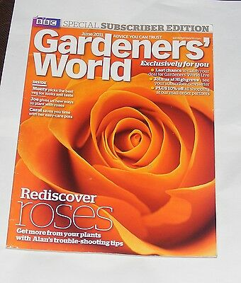 Gardeners' World June 2011 - Healthy Roses/summer Salads/hedge Pruning