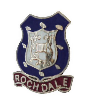 Clitheroe Town Council Lancashire Enamel Lapel Pin Badge