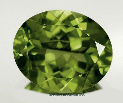9x7 MM Oval Cut Peridot All Natural Without Treatment