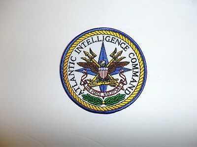 b2346 US Navy Atlantic Intelligence Command patch the force multiplier IR19C