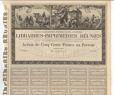 Librairies-Imprimeries Reunies Societe Anonyme - FRANCE