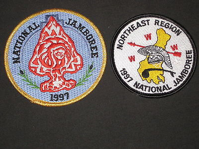1997 National Jamboree Order of the Arrow Patches, 2 diff      c1