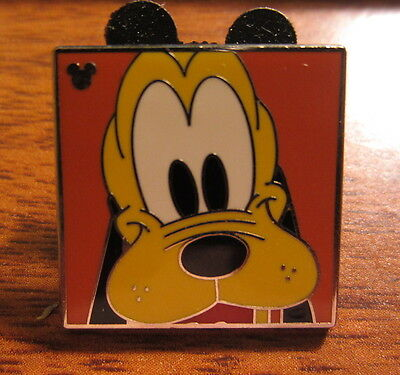 Disney 2012 Hidden Mickey Completer Pin Character Faces Pluto