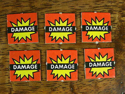 Oop Man O War Counters Tokens Damage X 6 (708)