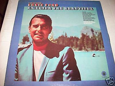 Tenessee Ernie Ford-America The Beautiful-Lp-Capitol-12