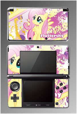 Fluttershy My Little Pony Friendship is Magic Video Game SKIN Cover Nintendo 3DS