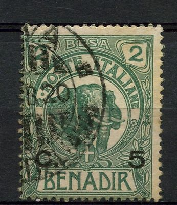 Somalia 1906-16 SG#11, 5c On 2b Elephant Used #A41897