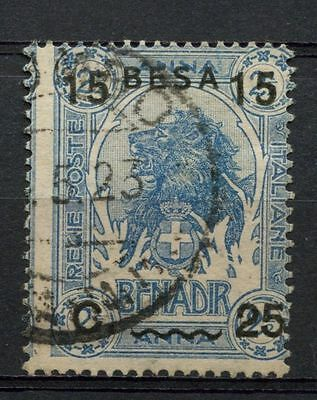 Somalia 1922 SG#26 15b On 25c On 2.5a Elephant Used #A41903