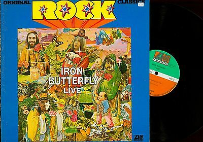 Lp--Iron Butterfly--Live--