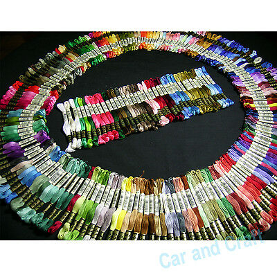 Pick ur Color, 100 skeins France DMC Embroidery Floss Cross Stitch Fill Wishlist