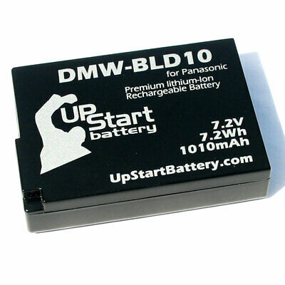 New Battery for Panasonic DMW-BLD10 gf2 bld10e dmc b204