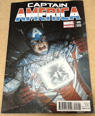 Captain America # 5 - Cover B (1:50) Variant - Marvel Comics