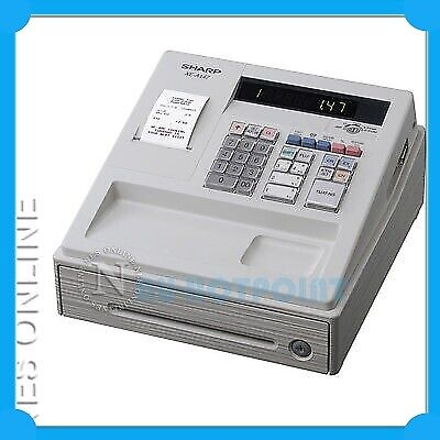 Sharp XE-A147WH Heavy-Duty Cash Register with SD Card Slot LOGO Printing XEA147
