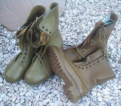 Khaki Tan G.p. Boots - New Pair Ex-Army Australian Surplus Stock Unissued