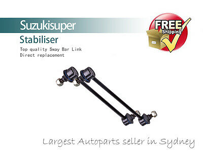 2 x Front Sway Bar Link Kit Bushes Toyota Corolla Stabiliser 2002-2006 Pair