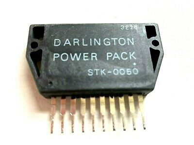 STK0050 Power Amplifier + Heat Sink Compound By SANYO