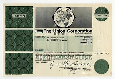 The Union Corporation Stock