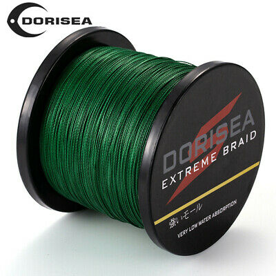 100M 300M 500M 1000M Green Spectra PE Dyneema Braided Fishing Line 6-150LB