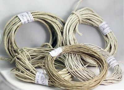 Pure Natural  Hemp Cord- HEMP TWINE   0.5MM -1MM- 2MM-3MM -4MM    Crafts-